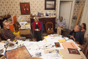 Balaklava Archive process, photo by Jessie Boylan