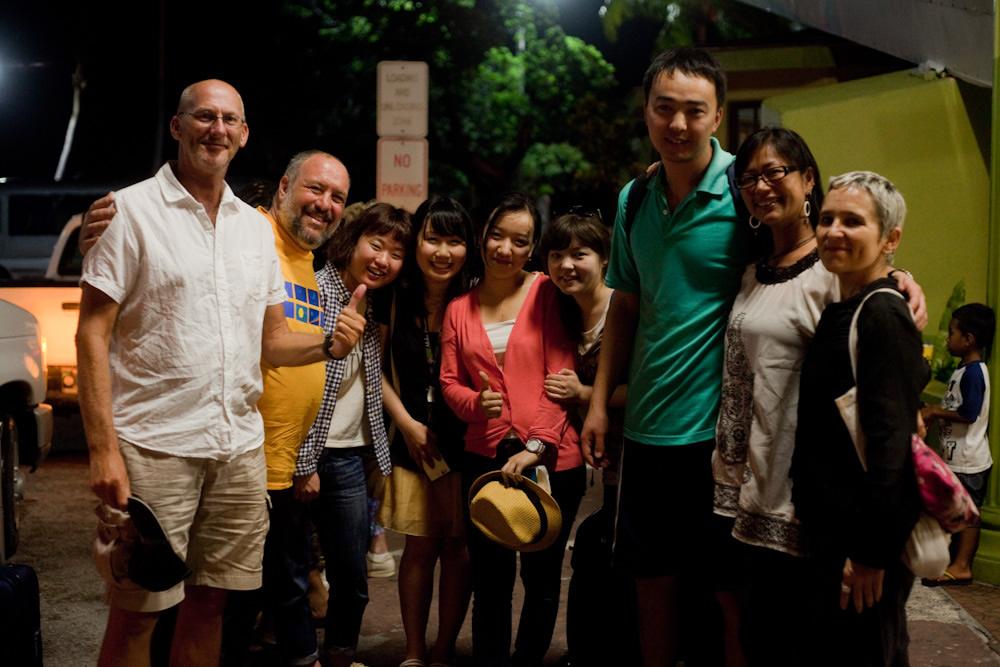 Kazakh students arrive