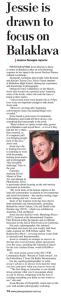 Plains Producer Newspaper, SA, JessieBoylan_p.14_21.5.14