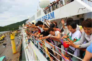 The Peace Boat/ Image source: http://www.peaceboat.org/