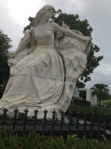 Maiden of Peace was donated in 1985 by the People's Republic of China, Nagasaki Peace Park