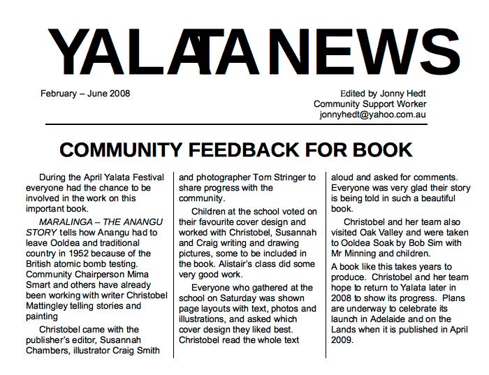 Yalata News