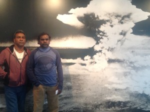 6. Steve and Russell at the Hiroshima memorial museum