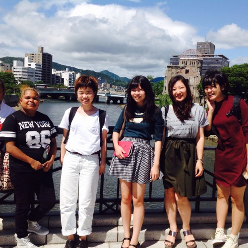 Good connections - Youth Leadership workshop, Hiroshima