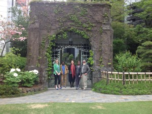 Sculpture delegation visit to Australian Embassy (Tokyo), April 2015.