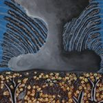 'Death' by Alinta Smart from Yalata Anangu community, in the collection 'Lififtede