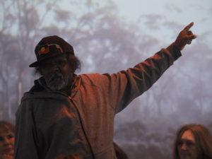 Yalata community leader Keith Peters. Photo by Tony Kearney.