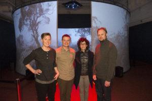 'Nuclear' showcase at Tandanya , 30 Septem Pic Ben Searcy.